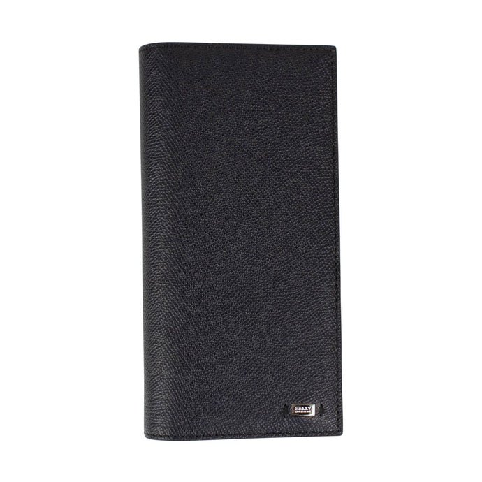 Calf Leather Bovine Wallet - Navy