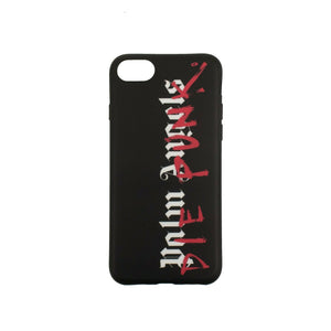 "PALM ANGELS X PLAYBOI CARTI ""Die Punk"" IPhone 8 Case - Black"