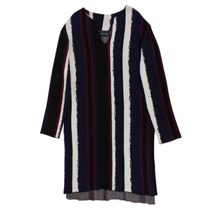 Woodstock Crew Sweater Dress - Multi