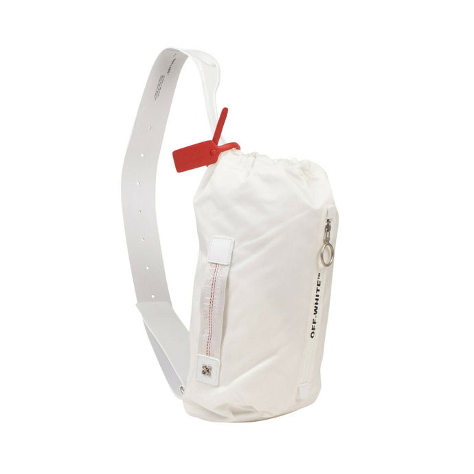 Nylon Convertible Bum Bag - White