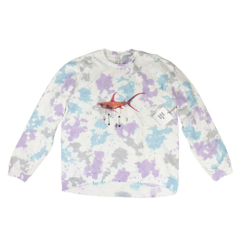 Tie Dye Ashley Bickerton Perfect Pullover Sweatshirt - Multi