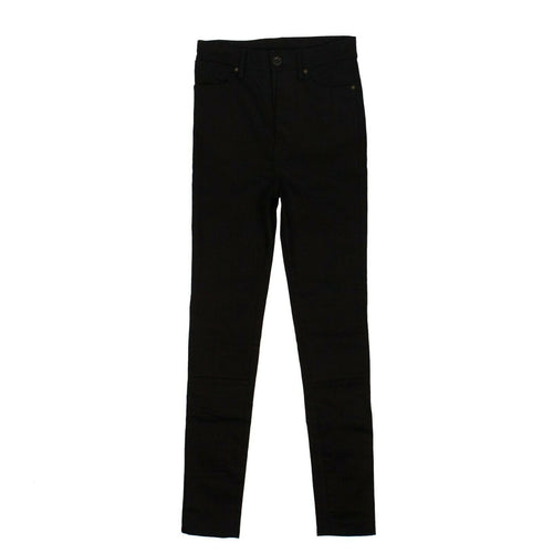 Cotton Super Skinny Stretch Jeans - Black