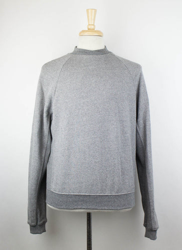 Cotton Blend Hellweek Crewneck Sweater - Gray