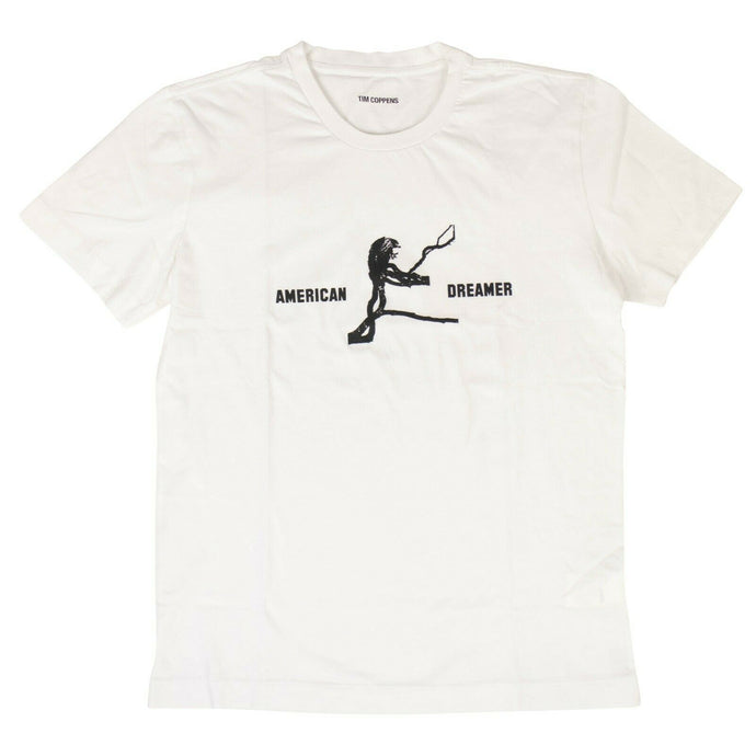 Cotton American Dreamer T-Shirt - White