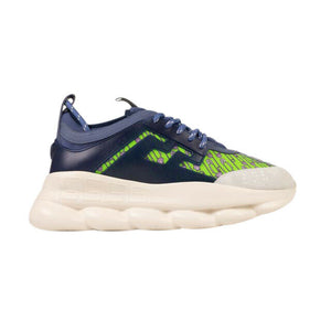 Medusa Chain Reaction Sneakers - Blue