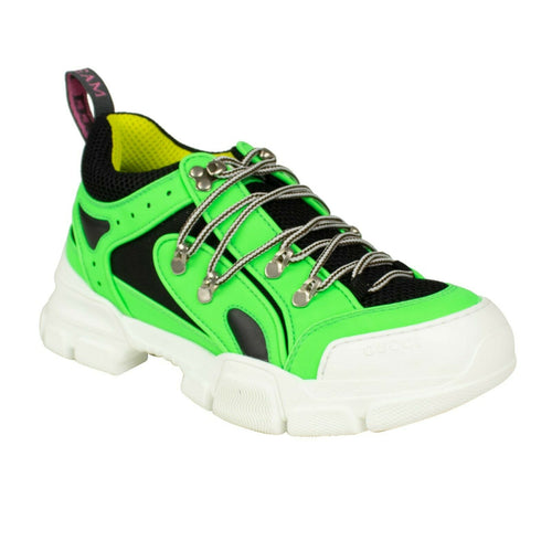Reflective Flashtrek Hiking Sneakers - Neon Green
