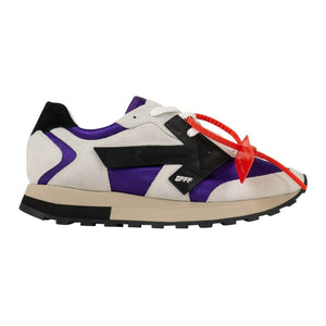 HG 'Purple Runner' Sneakers - White