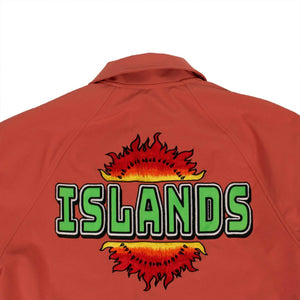 Cotton Reversible Varsity Jacket - Coral Pink