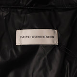 FAITH CONNEXION x K-WAY Logo Tailcoat Parka Jacket - Black