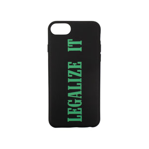 """Legalize It"" Iphone 7 Case - Black"