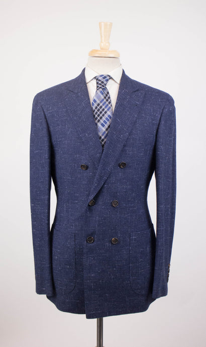Cashmere Blend DB Sport Coat - Blue