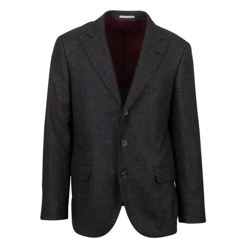 Cashmere Blend 3 Roll 2 Sport Coat - Brown