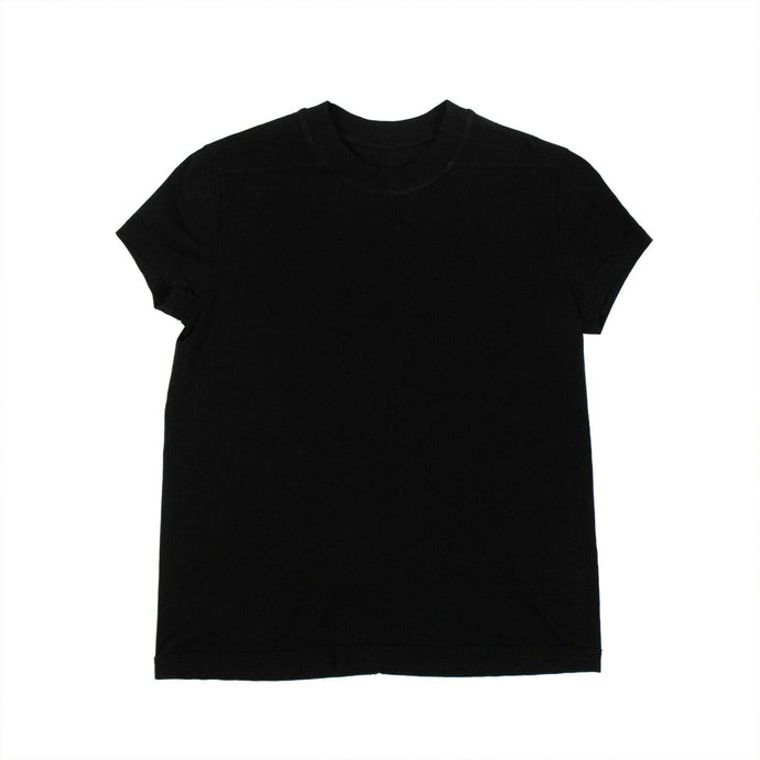 'Small Level' Short Sleeves Woven T-shirt - Black