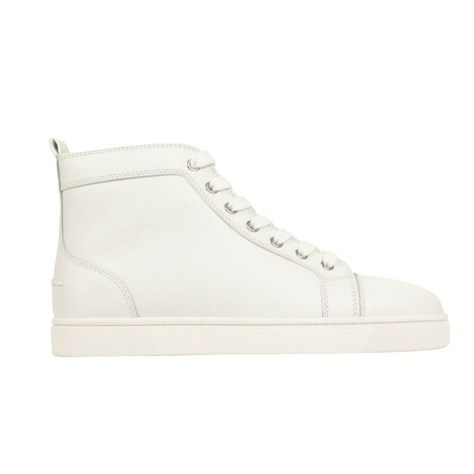 Men's Louis Calfskin Sneakers - White