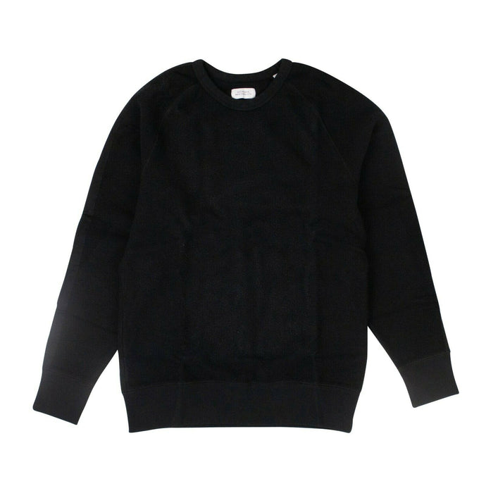 Cotton 'Simon Tape' Pullover Sweatshirt - Black