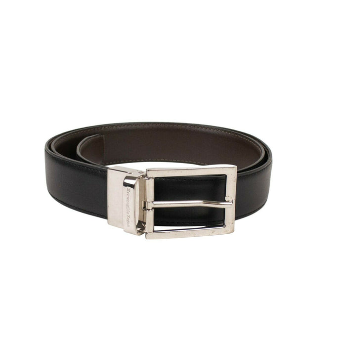 Leather Reversible Belt - Black/Brown