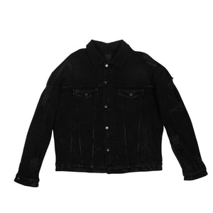 Denim 'Manny AWOL' Jacket - Black