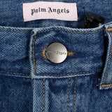 Denim Rainbow Stripe Medium Wash Jeans - Blue
