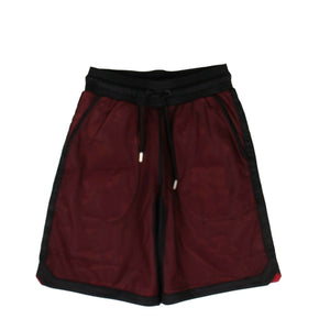 Cotton County Mesh Sweat Shorts - Red