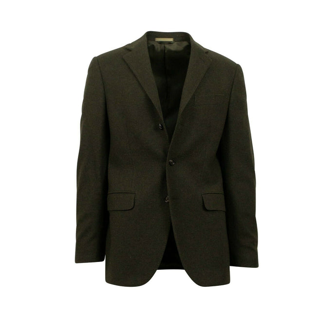 Drop 6 3 Roll 2 Button Wool Sport Coat - Green