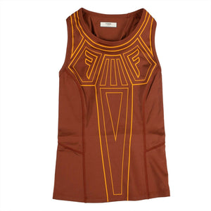 Graphic Logo Tank Top - Orange