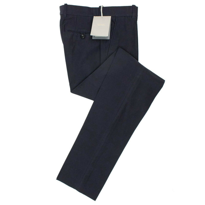Cotton Pants - Navy Blue