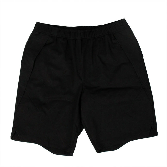 Virgin Wool Staple Shorts - Black