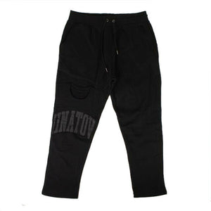 'T-Shirt' Sweatpants - Black