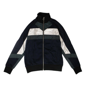Multi 'XTC' Track Jacket - Navy Blue