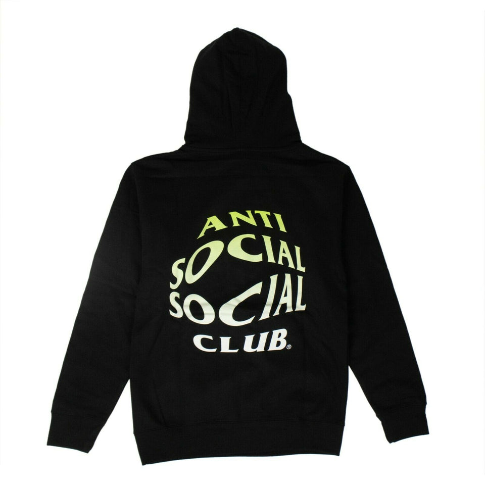 'Crystal Clear' Hoodie Sweatshirt - Black