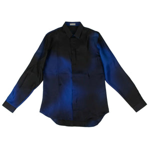 Abielle Woven Dress Shirt - Blue