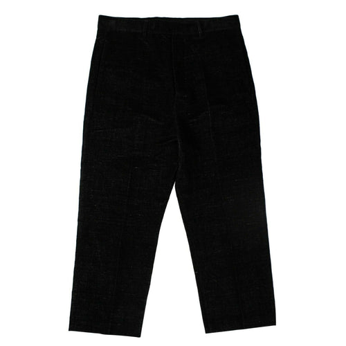 Cotton 'Cropped Astaires' Pants - Black