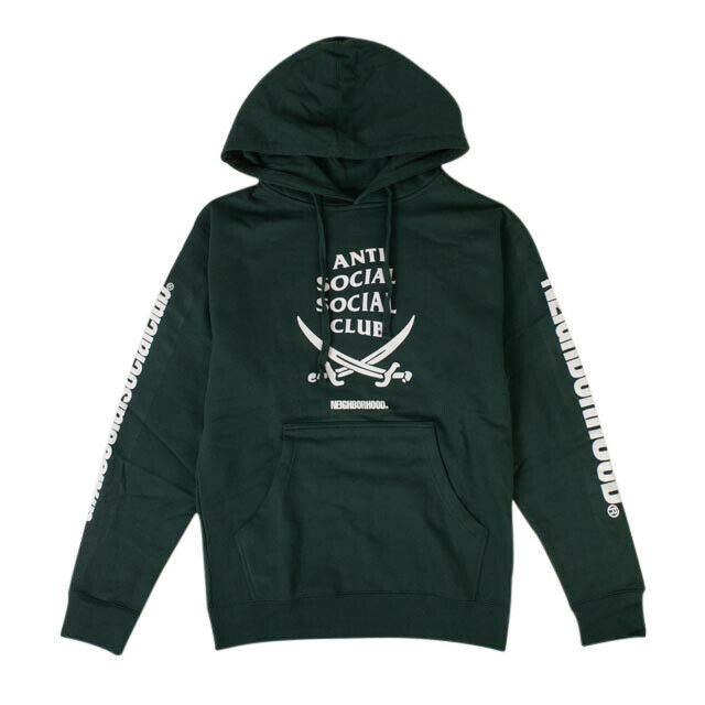 ANTI SOCIAL SOCIAL CLUB x Neighborhood 6IX Hoodie Sweatshirt - Green