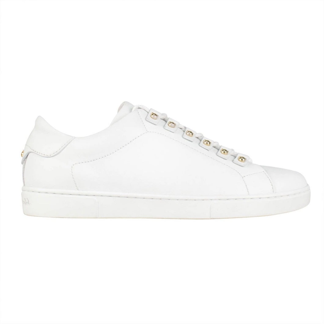 Vulcano Leather Sneakers - White