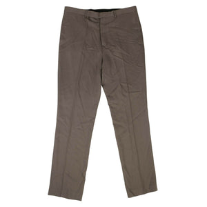 New Wool 'Slim Long Astaires' Pants - Dust
