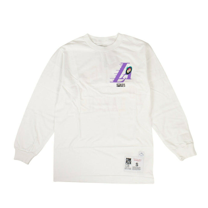 TAKASHI MURAKAMI x COMPLEXCON 'LA Lakers' Long Sleeve T-Shirt - White