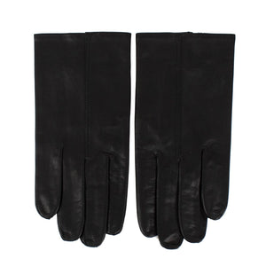 Black Calfskin Leather Gloves
