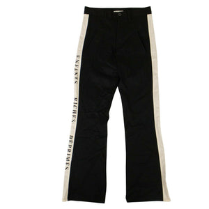 Logo Stripe Trousers - Black