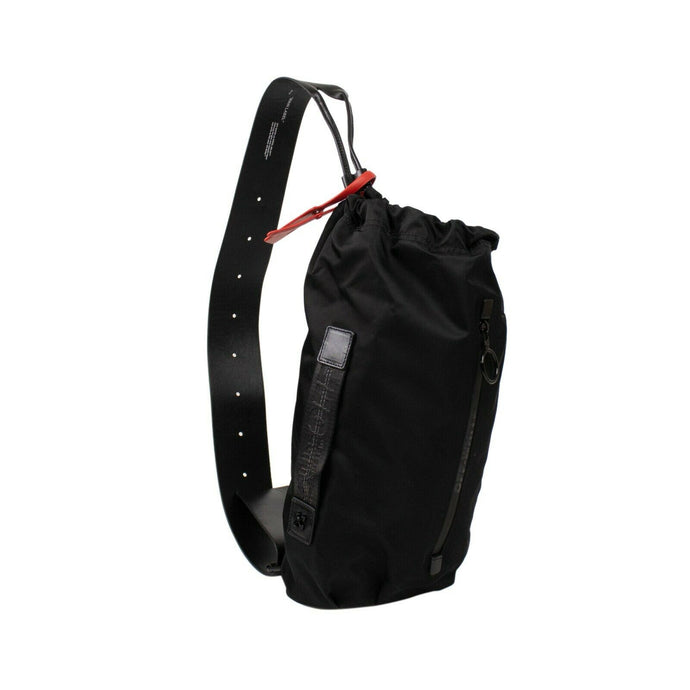 Nylon Convertible Bum Bag - Black