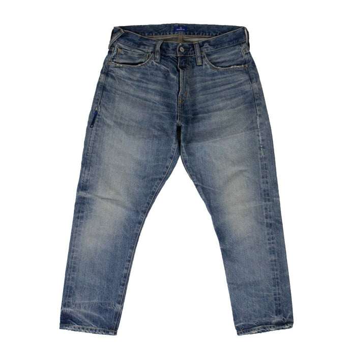 Denim '3 Yr' Ankle Cut Jeans - Blue