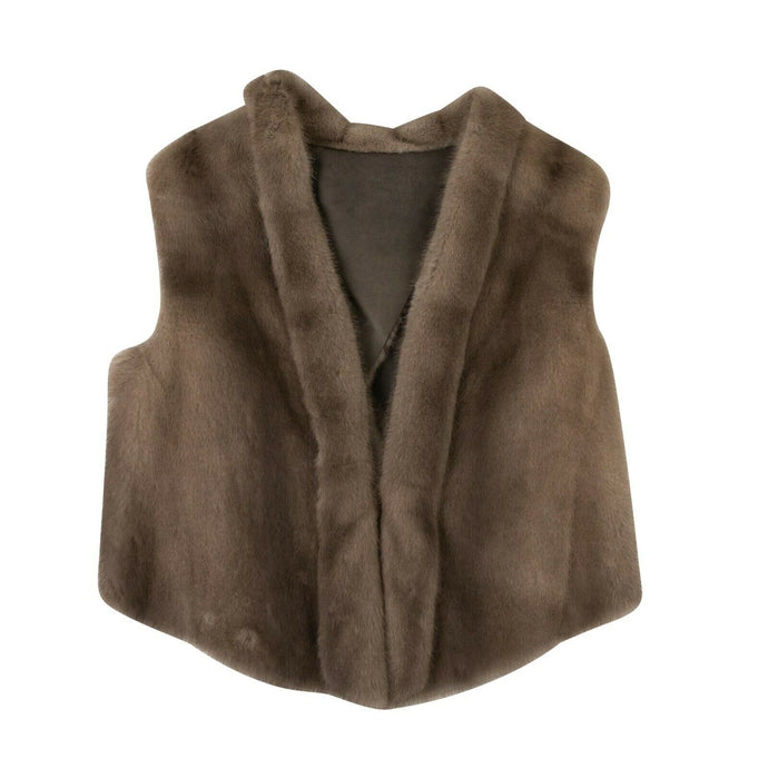 Mink Fur Vest - Neutral