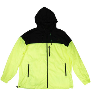 Windbreaker Jacket - Neon Yellow
