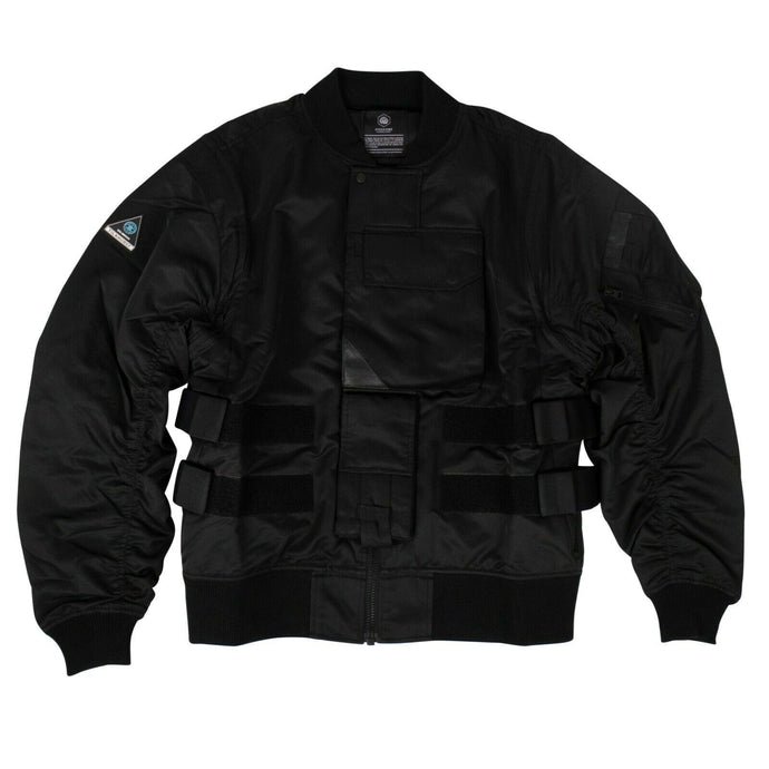 GUERRILLA GROUP x EYES AND SINS Bomber Jacket - Black
