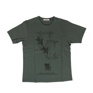 Cotton 'UC' T-Shirt - Moss Green