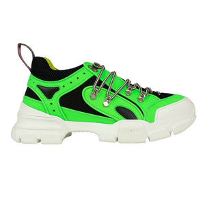 Men's Reflective Flashtrek Hiking Sneakers - Neon Green