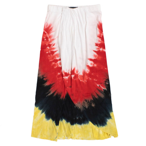 Paradise Tie Dye Wrap Skirt - Multi