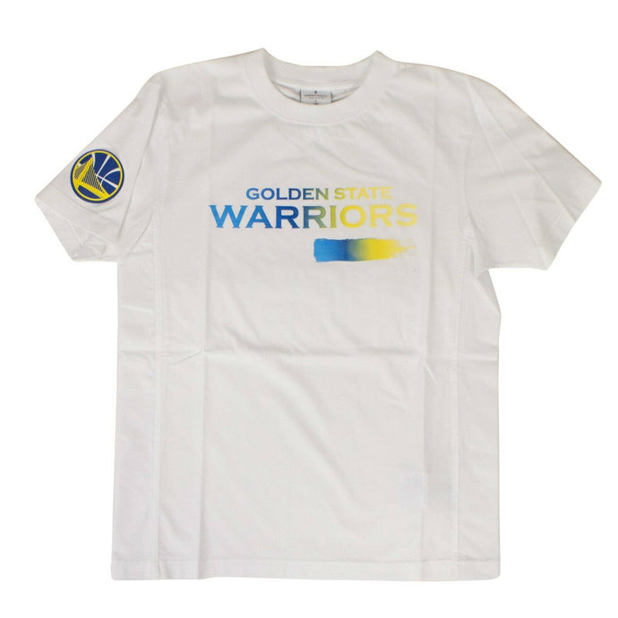 Cotton Golden State Warrior T-Shirt - White