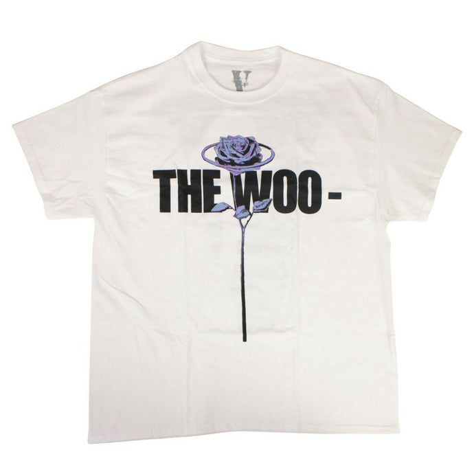 VLONE x POP SMOKE Cotton 'The Woo' Short Sleeve T-Shirt - White