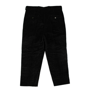 Cotton 'Cropped Astaires' Pants - Black/Milk