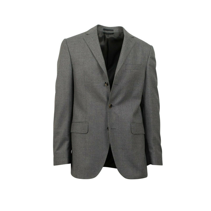 Drop 6 3 Roll 2 Button Classic Fit Wool Sport Coat - Gray
